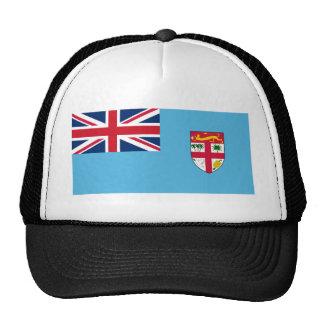 Bandera FJ de Fiji Gorros Bordados