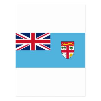 Bandera FJ de Fiji Tarjetas Postales