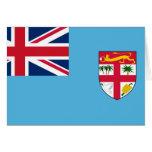 Bandera FJ de Fiji Tarjetas