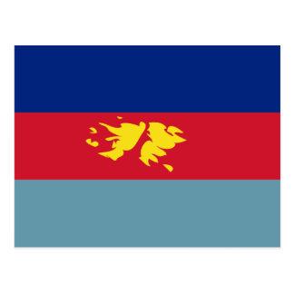 Bandera FK de la defensa de Islas Malvinas Tarjeta Postal