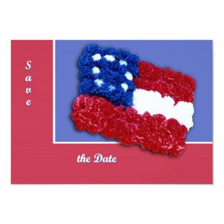 """Bandera floral invitación 5"""" x 7"""""""