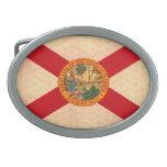 Bandera Floridian del modelo del vintage Hebillas Cinturón