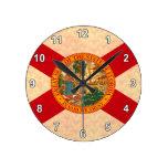 Bandera Floridian del modelo del vintage Relojes