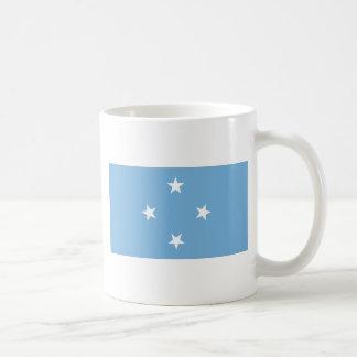 Bandera FM de Federated States of Micronesia Taza