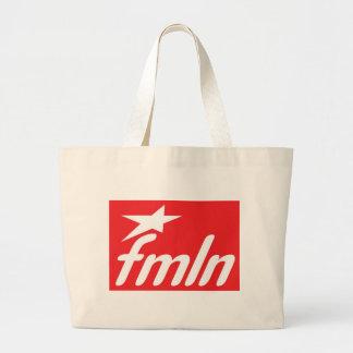 Bandera FMLN Bolsa Tela Grande
