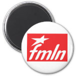 Bandera FMLN Imán De Nevera