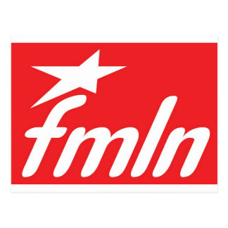 Bandera FMLN Tarjetas Postales