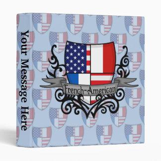 """Bandera Francés-Americana del escudo Carpeta 1"""""""