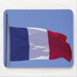 Bandera francesa alfombrillas de ratones