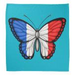 Bandera francesa de la mariposa bandanas