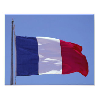 Bandera francesa fotografía