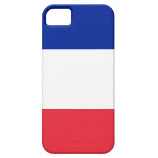 Bandera francesa funda para iPhone SE/5/5s