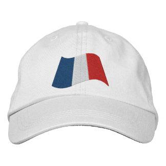 Bandera francesa gorro bordado