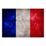 Bandera francesa impresiones