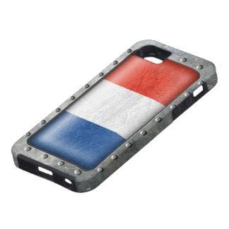 Bandera francesa industrial funda para iPhone SE/5/5s