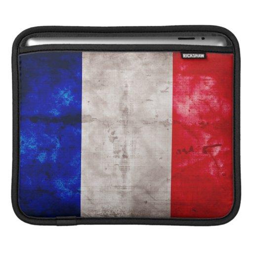 Bandera francesa manga de iPad