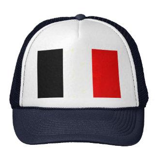 Bandera francesa nerviosa moderna gorras