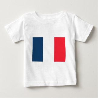Bandera francesa playera de bebé