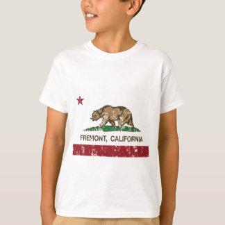 bandera fremont de California apenado Playera