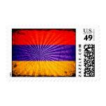 Bandera fresca de Armenia del Grunge