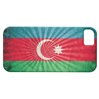 Bandera fresca de Azerbaijan del Grunge iPhone 5 Funda