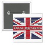 Bandera fresca de Britannia Británicos Pin