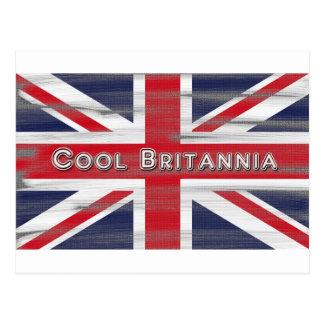 Bandera fresca de Britannia Británicos Postales