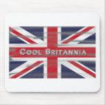 Bandera fresca de Britannia Británicos Alfombrilla De Raton