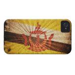 Bandera fresca de Brunei del Grunge; Case-Mate iPhone 4 Carcasa