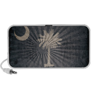 Bandera fresca de Carolina del Sur del Grunge iPod Altavoces