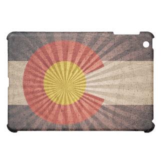 Bandera fresca de Colorado del Grunge