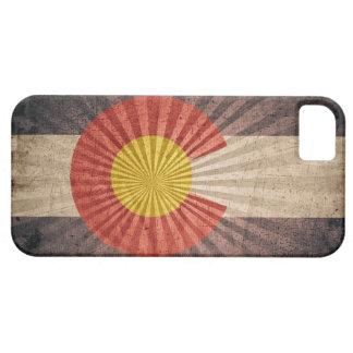 Bandera fresca de Colorado del Grunge iPhone 5 Funda