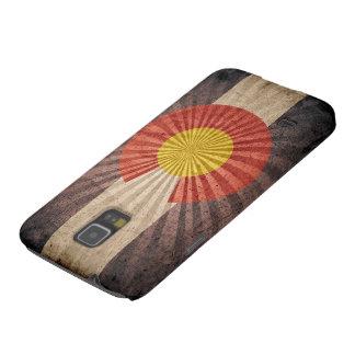 Bandera fresca de Colorado del vintage Carcasa Para Galaxy S5