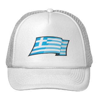 Bandera fresca de Grecia Gorro