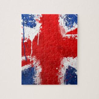 Bandera fresca de Inglaterra Puzzle