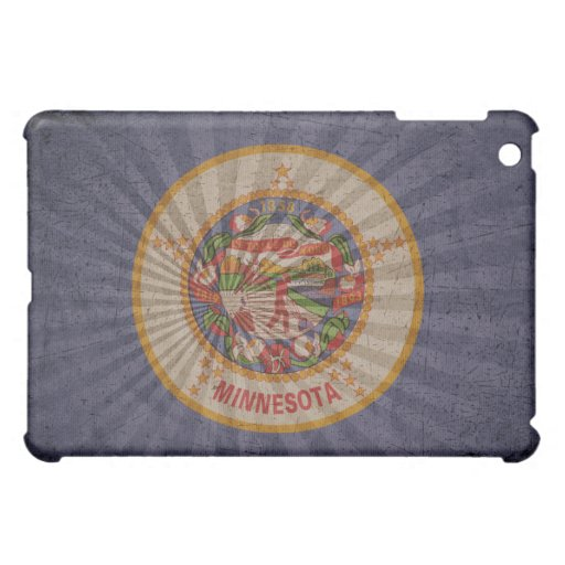Bandera fresca de Minnesota del Grunge