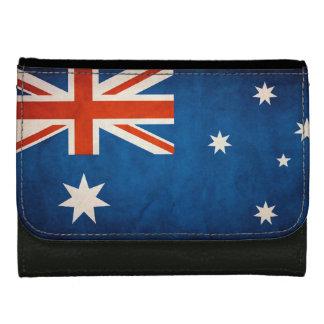 Bandera fresca del Grunge de Australia