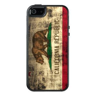 Bandera fresca del Grunge del vintage de la Funda Otterbox Para iPhone 5/5s/SE