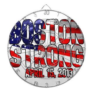 Bandera fuerte de Boston Tablero Dardos