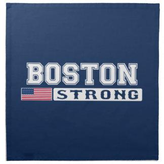 Bandera FUERTE de BOSTON los E.E.U.U. Servilletas