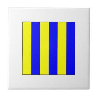 Bandera G del ICS Azulejo Cuadrado Pequeño