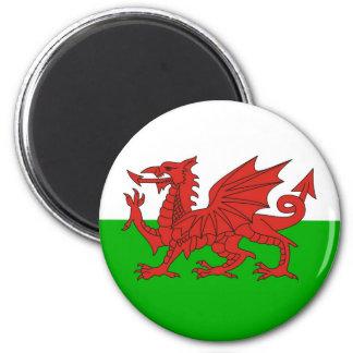bandera galés británicos del dragón del país de Pa Imán Redondo 5 Cm