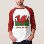 Bandera Galés, byth de Cymru Camisas