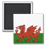 Bandera Galés Iman Para Frigorífico