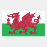 Bandera Galés Rectangular Altavoces