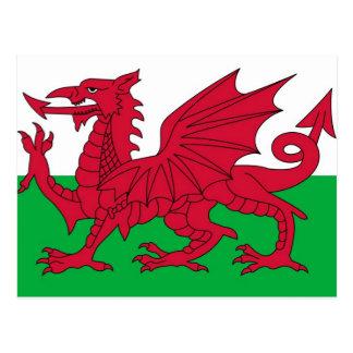 Bandera Galés Postales