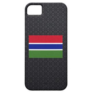 Bandera gambiana funda para iPhone 5 barely there