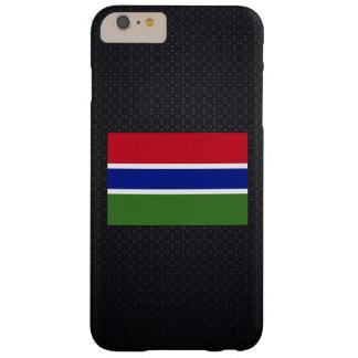 Bandera gambiana funda para iPhone 6 plus barely there