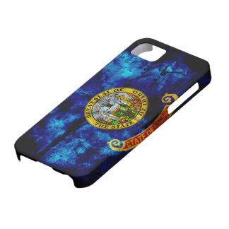 Bandera gastada de Idaho Funda Para iPhone SE/5/5s