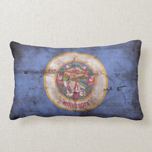 Bandera gastada de Minnesota; Cojines